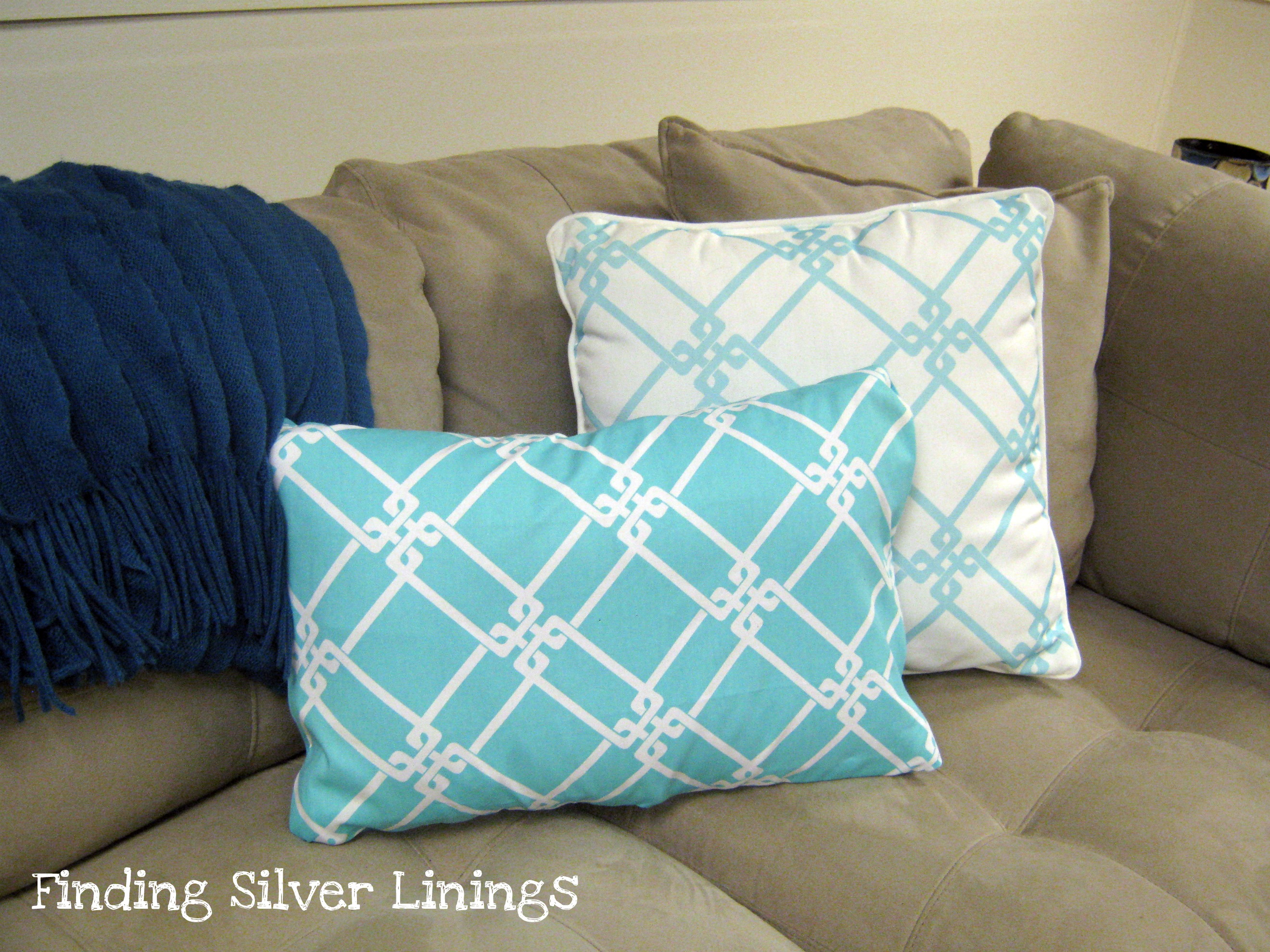 How To Make Throw Pillow Covers By Hand : No Sew Pillow Covers - Houses Plans - Designs