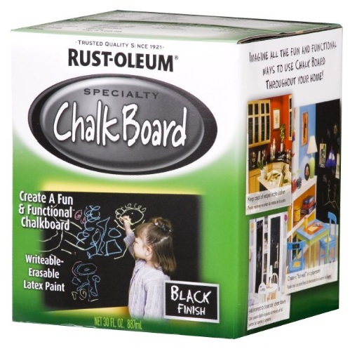 how to paint a chalkboard wall finding silver linings. Black Bedroom Furniture Sets. Home Design Ideas