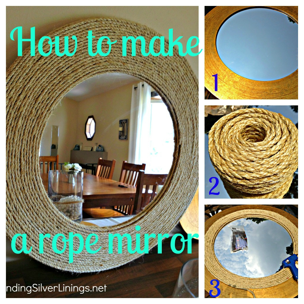 25 Diy Decorating Projects That You Are Inspired To Do: Pinterest Challenge: D-I-Y Rope Mirror