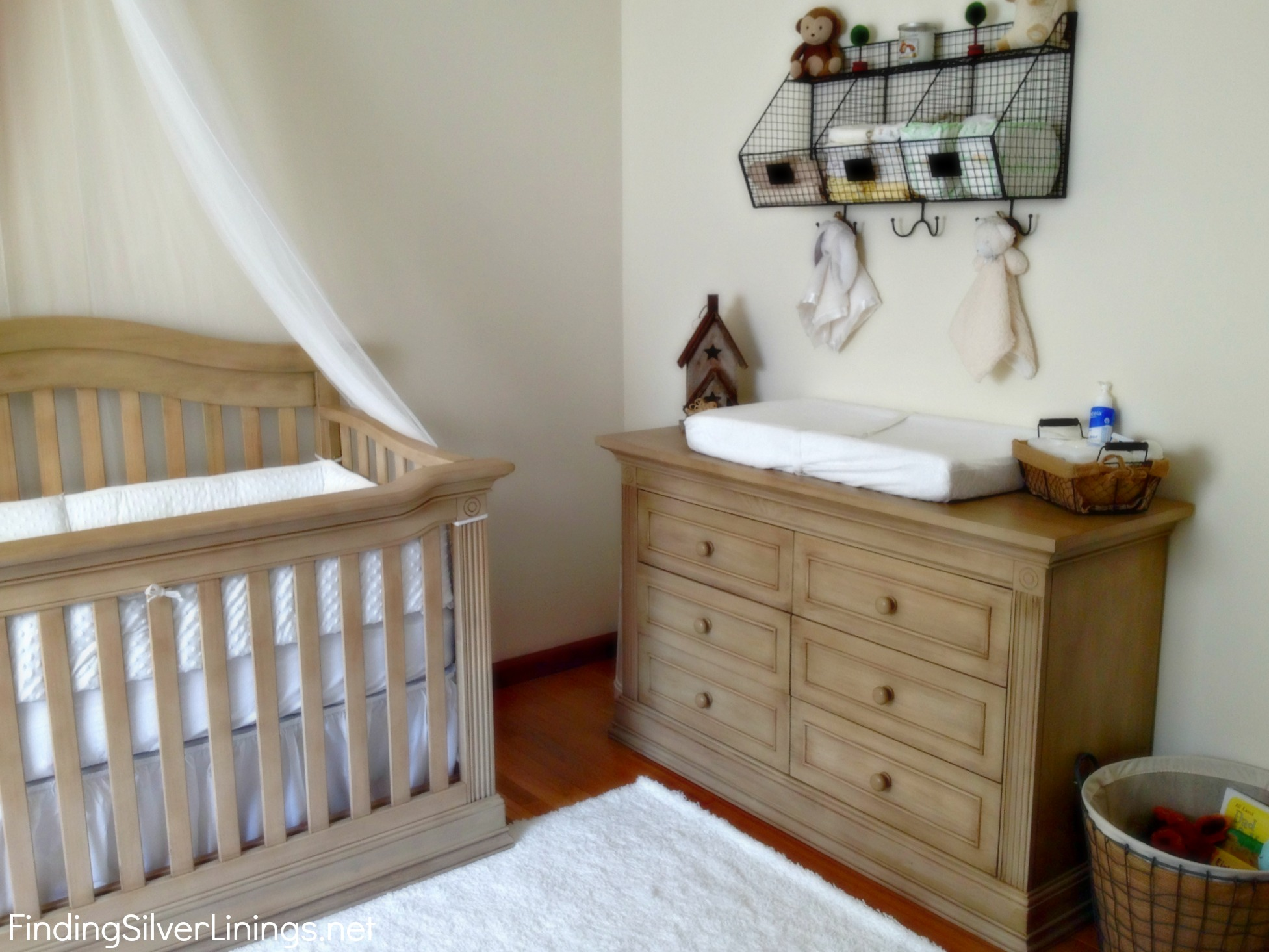Gender Neutral Nursery Reveal Finding Silver Linings