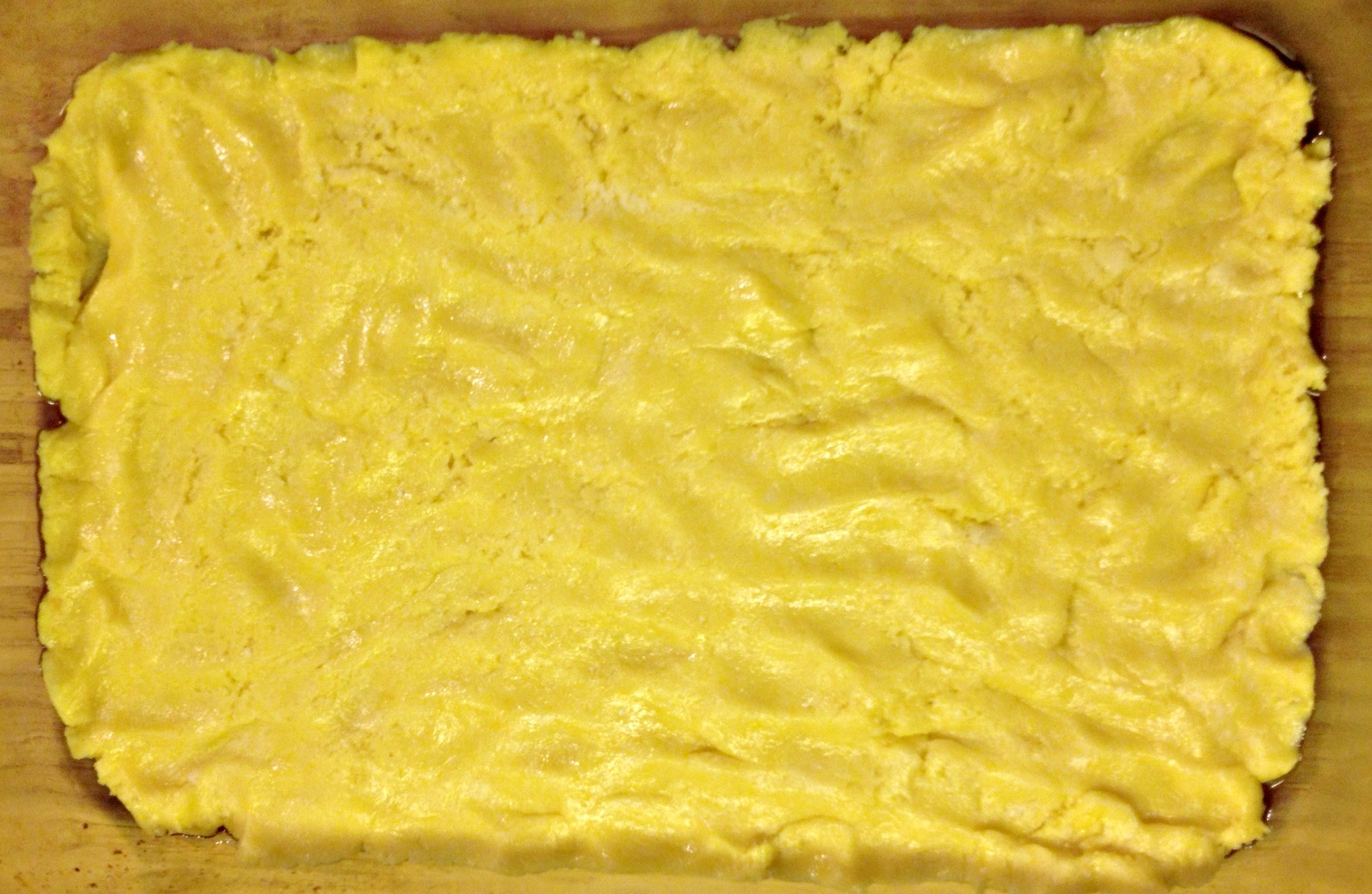 Use a yellow cake mix for gooey butter bars