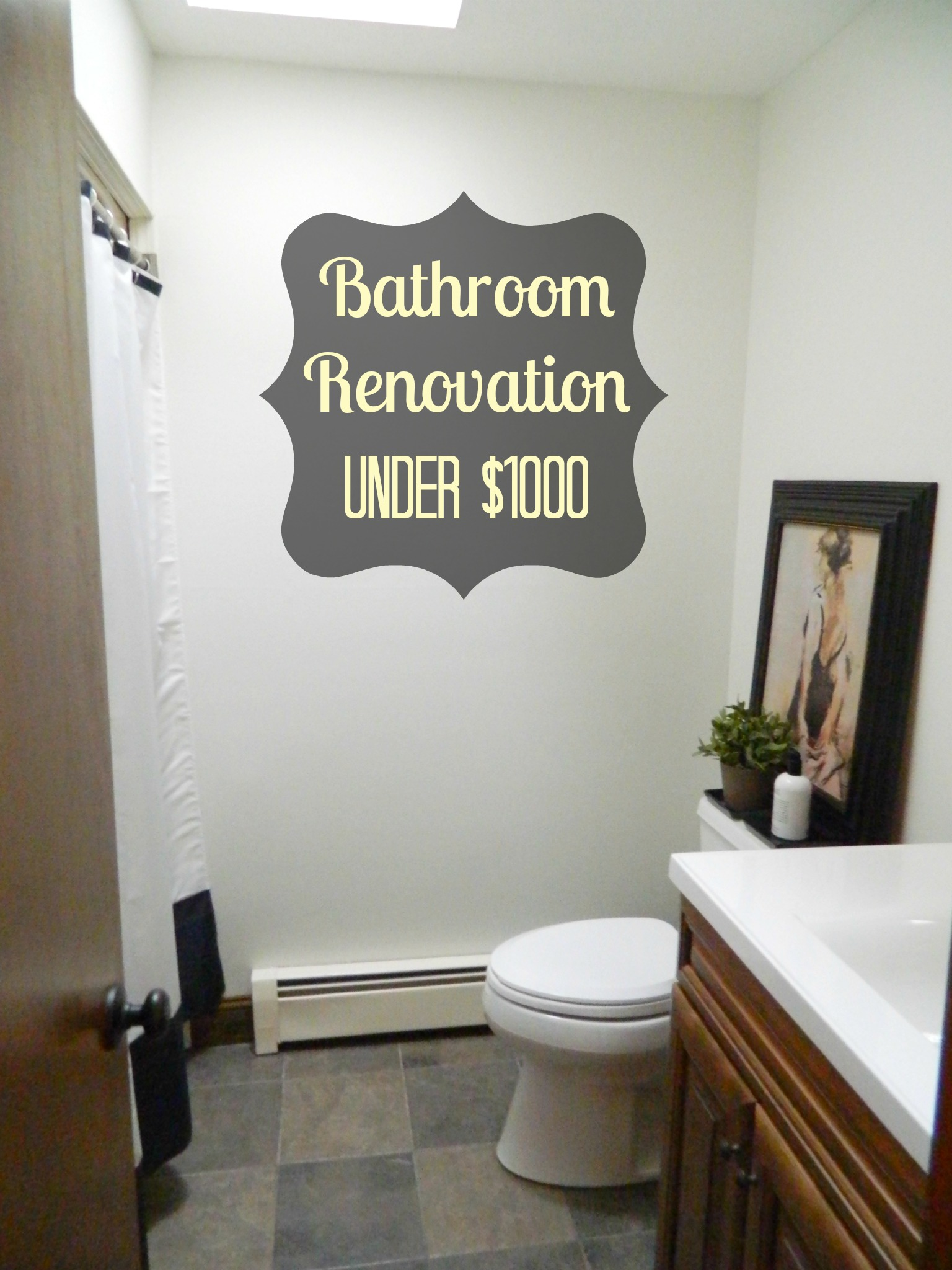 bathroom renovation under $ 1000 bathroom renovation under title=