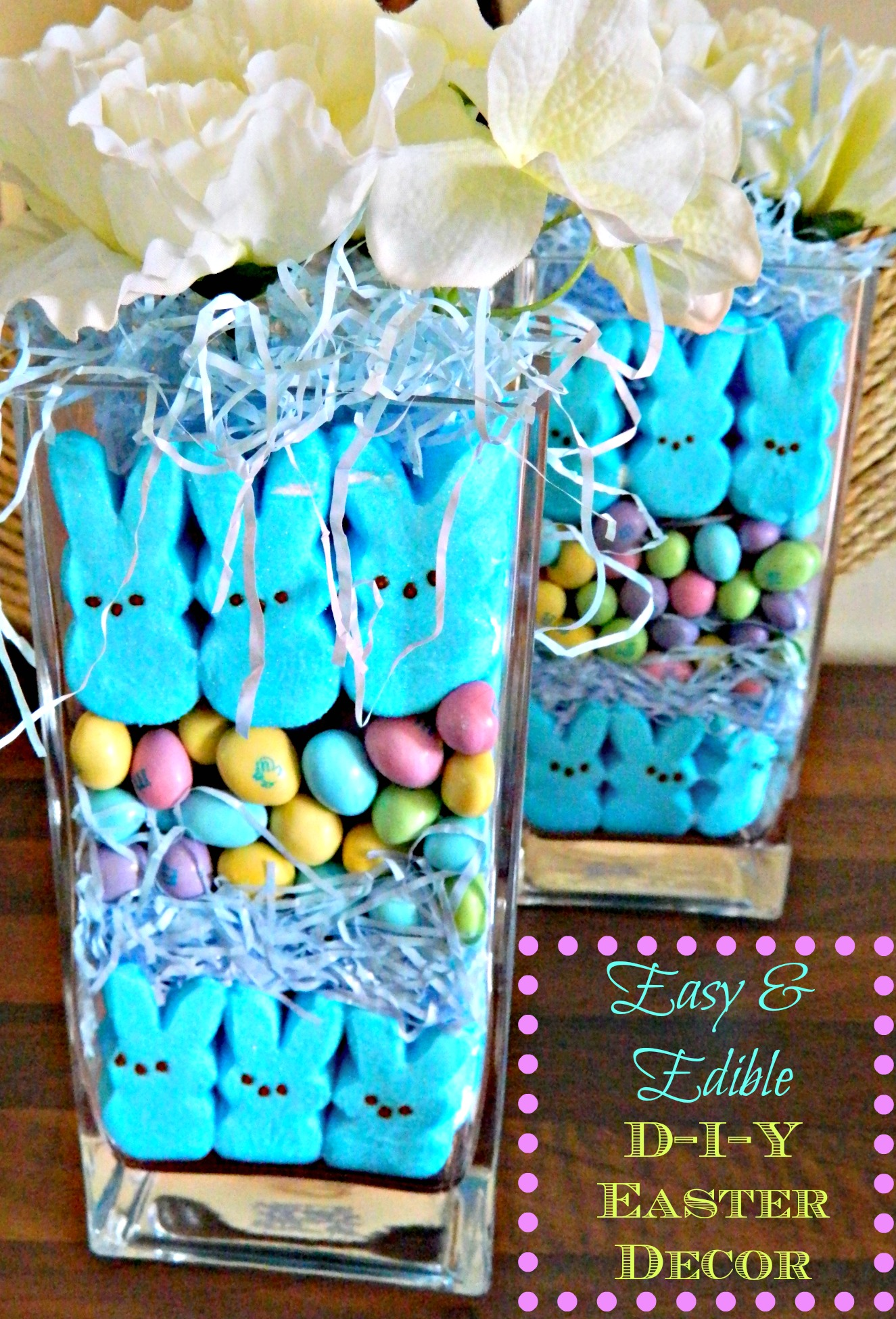 Edible Easter decorations. So cute!