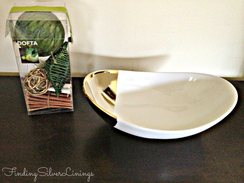 Nate Berkus Gold Dipped Bowl