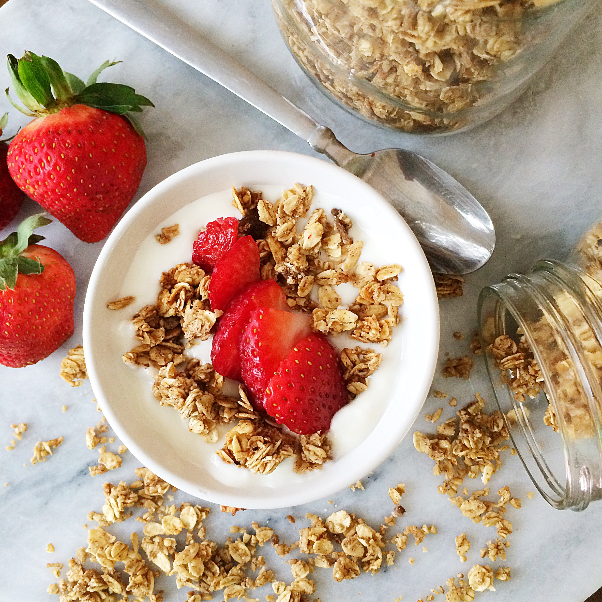 the best granola recipe ever | Finding Silver Linings