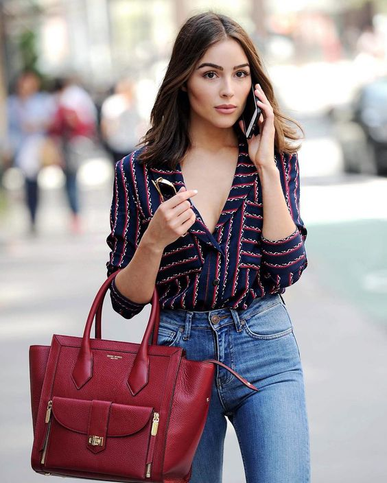 Style Inspiration Olivia Culpo Finding Silver Linings