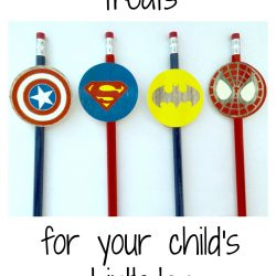 Easy DIY Favors For A School Birthday (Free Printable!)