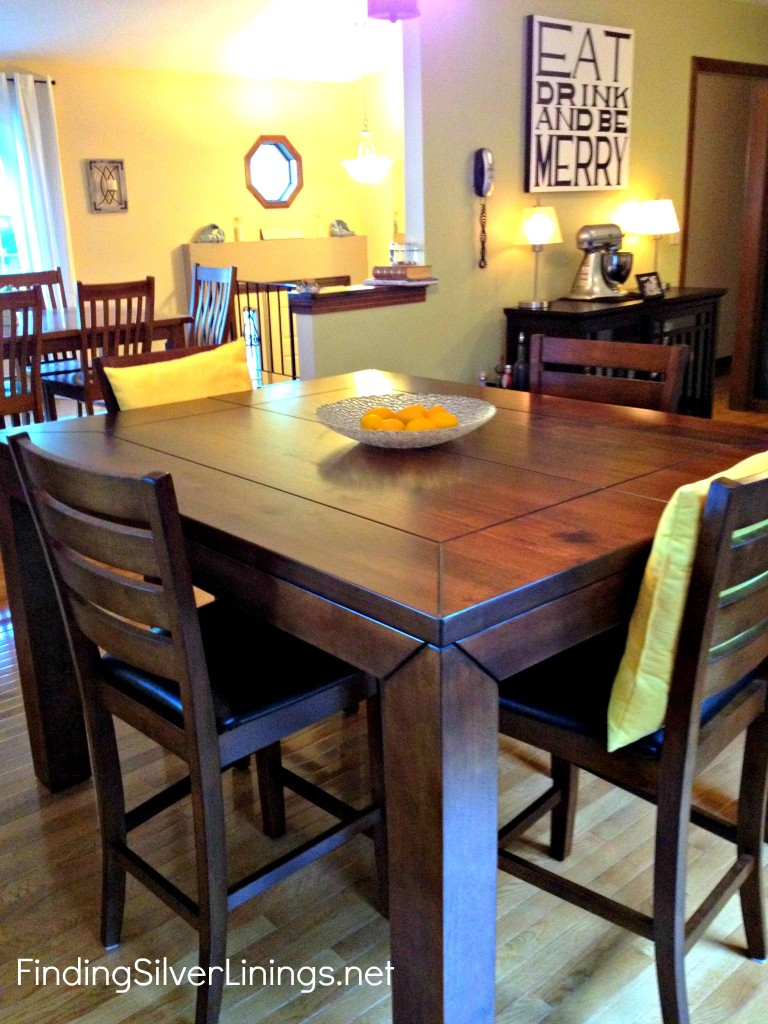 Counter Height Kitchen Table | Finding Silver Linings